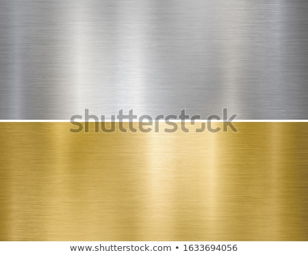 fine brushed gold metal Stock photo © clearviewstock
