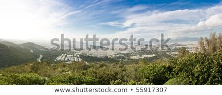 panorâmico · ver · Atenas · Grécia · cidade · edifícios - foto stock © igabriela