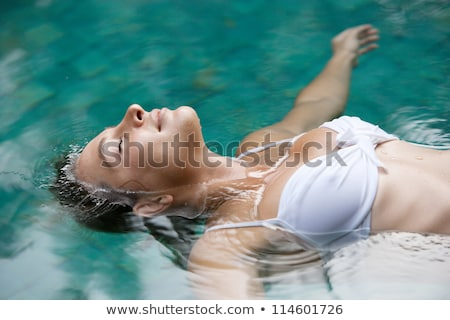 Beautiful ethereal tranquil woman Stock photo © Krisdog
