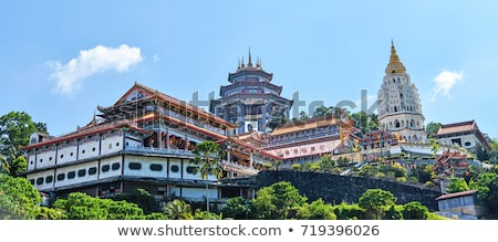 Pagoda at Kek Lok Si (Temple of Supreme Bliss) in Malaysia  Stock photo © ivanhor
