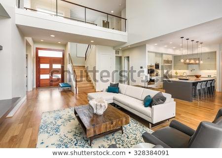 modern living room, large view Stock photo © alexandre_zveiger
