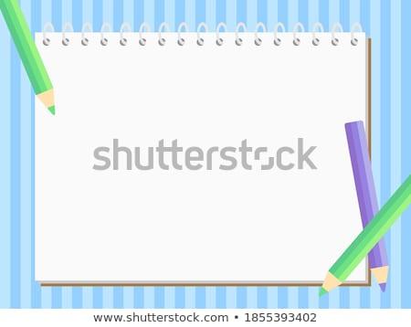 Sketchbook. Vector Stock photo © -Baks-