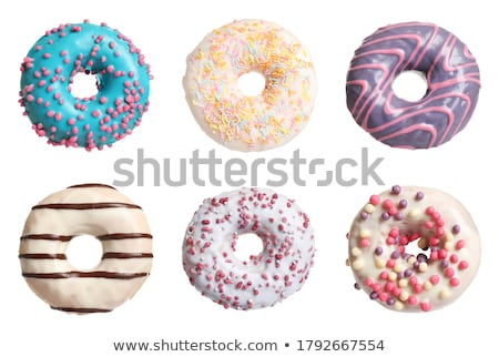many different donuts stock photo © hasloo
