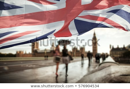 india and united kingdom flags in puzzle stock photo © istanbul2009