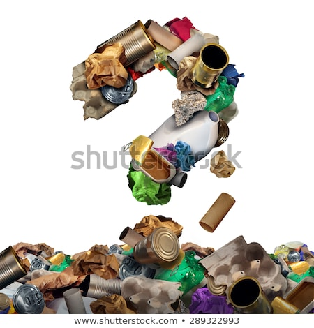Recycle Garbage Question Stock photo © Lightsource