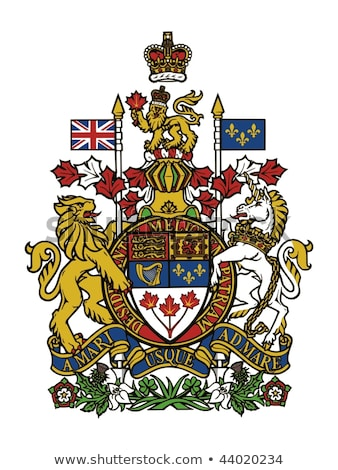 coat of arms of canada stock photo © netkov1