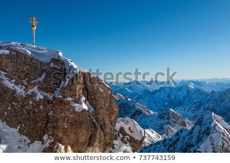 View from summit Zugspitze Stock photo © w20er