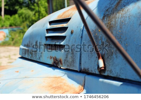 Old and rusty truck outdoors Stock photo © amok