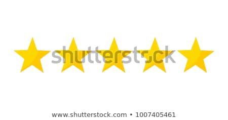5 star golden vector icon design vector illustration