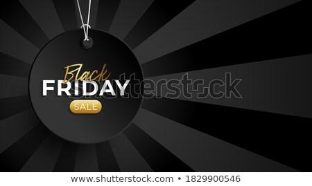 Weekend deal gouden vector icon ontwerp Stockfoto © rizwanali3d