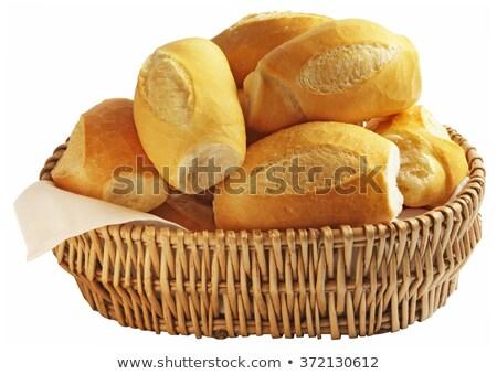 буханка белый французский хлеб бумаги продовольствие жизни Сток-фото © ozaiachin