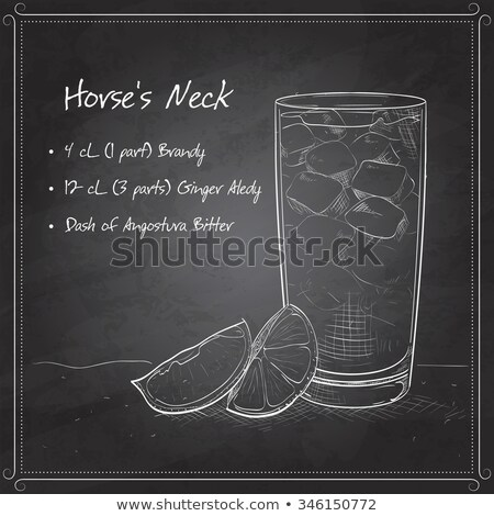 glas · gember · ale · eigengemaakt · citroen · kalk - stockfoto © netkov1