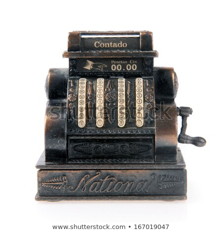 Old vintage cash register Stock photo © smuki