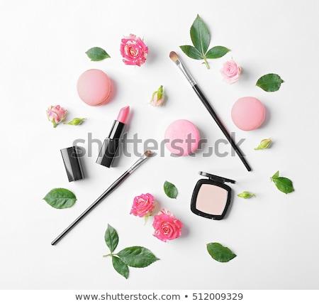 Delicioso maquillaje establecer moda placa Foto stock © Fisher