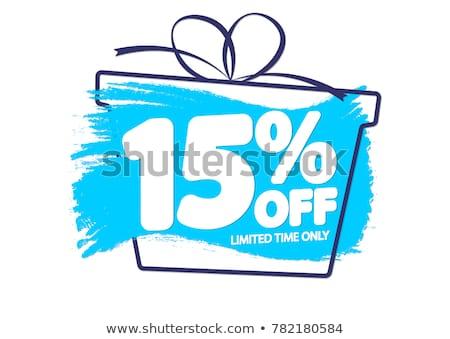 15% Off Stock photo © idesign