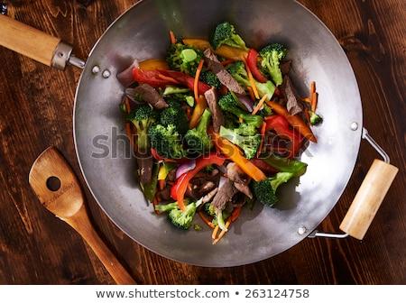健康 · 野菜 · 調理済みの · 中国語 · スタイル - ストックフォト © klinker