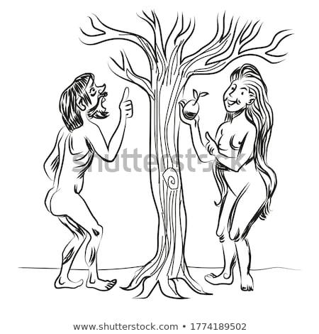 искусства · создание · дерево · иллюстрация · вектора · аннотация - Сток-фото © jossdiim