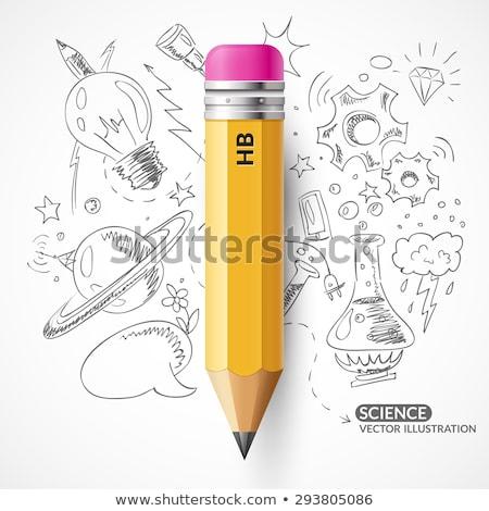 Lightbulb Pencil Drawing Stock photo © Lightsource
