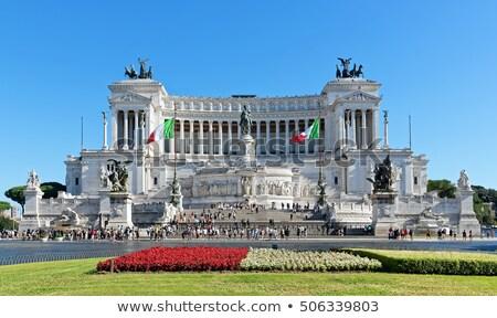 The Altare della Patria monument in Rome, Italy.  Stock photo © photocreo