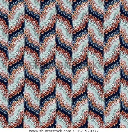 Naadloos gestreept grunge patroon hand geschilderd Stockfoto © pakete