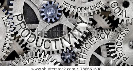 productivité · affaires · bureau · art · équipe · entreprise - photo stock © lightsource