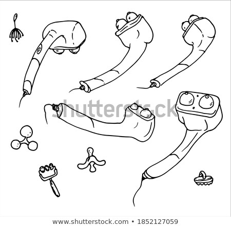 Doodle design of the different medical tools Stock photo © bluering