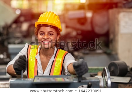 steel worker in plant stock photo © mady70