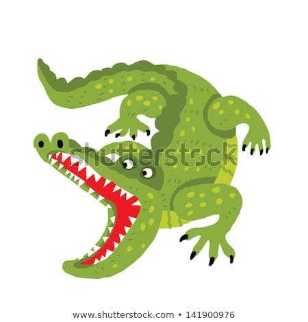 Animales abierto safari ilustración árbol Foto stock © bluering