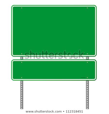 Стрелки · дорожный · знак · изолированный · белый · дороги - Сток-фото © oakozhan