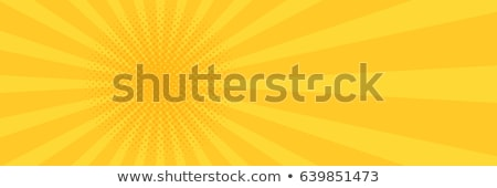 Abstract red yellow background Stock photo © cifotart