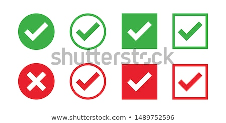 red incorrect check mark stock photo © djmilic