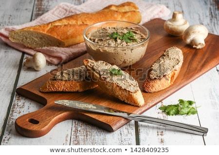 свежие багет катиться завтрак сэндвич здорового Сток-фото © Digifoodstock