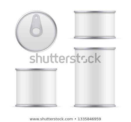 Azeitonas alumínio lata ilustração saúde fundo Foto stock © bluering