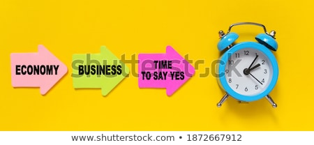 time to say yes clock concept stock photo © ivelin