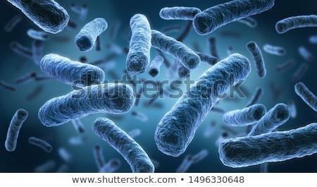 攻撃 病気 細菌 健康 背景 緑 ストックフォト © SwillSkill