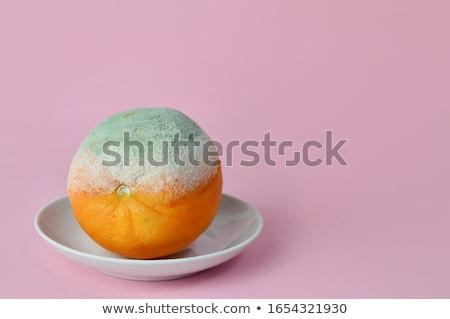 Oranje grijs voedsel achtergrond Stockfoto © Klinker