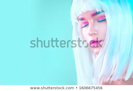 Sztuki moda model dziewczyna portret Fotografia Zdjęcia stock © artfotodima