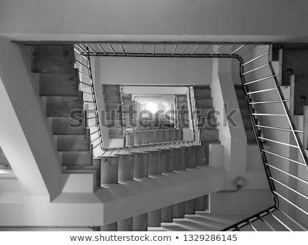 Piazza scala abstract view giù top Foto d'archivio © hamik