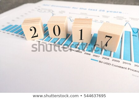2017 Economic Forecast - Business Concept. Stock photo © tashatuvango
