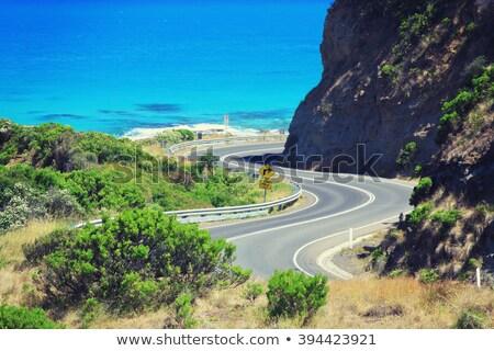 Австралия · шоссе · знак · высокий · разрешение · графических · зеленый - Сток-фото © backyardproductions