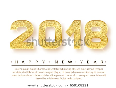 New Year 2018 Clock Concept Stock photo © ivelin