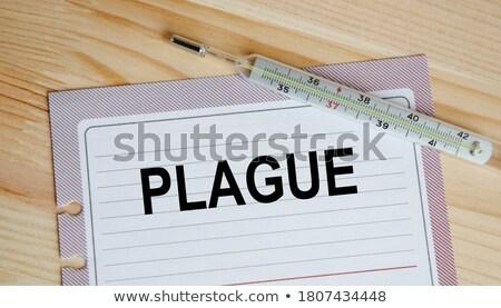 plague diagnosis medical concept stock photo © tashatuvango