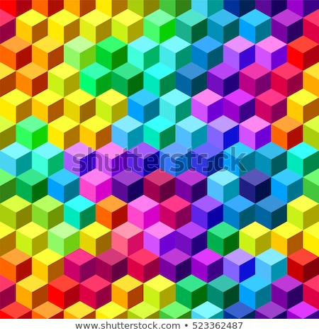 Colourful range of seamless background. Vector Abstract pattern  Stock photo © popaukropa