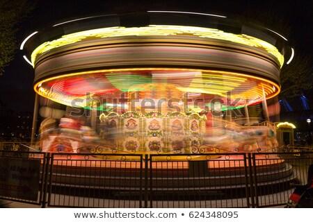 Londres ojo noche viaje arquitectura movimiento Foto stock © IS2