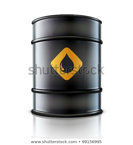 металл · нефть · баррель · изолированный · белый · большой - Сток-фото © rastudio