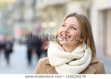Genç kadın gezi tatil kadın yaz kadın Stok fotoğraf © IS2