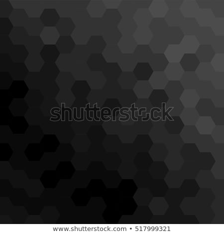 Dark Honeycomb Rubber Carbon Texture Background stock photo © smith1979