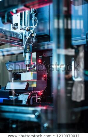 ストックフォト: 薬 · 倉庫 · 薬局 · 革新的な · マシン · クローズアップ