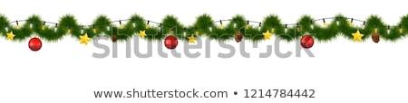 блеск · Рождества · счастливым · снега - Сток-фото © adamson