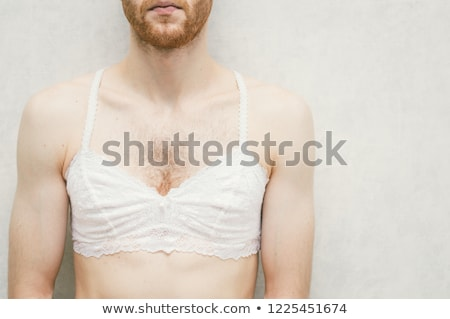 wearing bra Stock photo © stryjek
